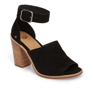 UGG Aja Ankle Strap Open Toe Sandal